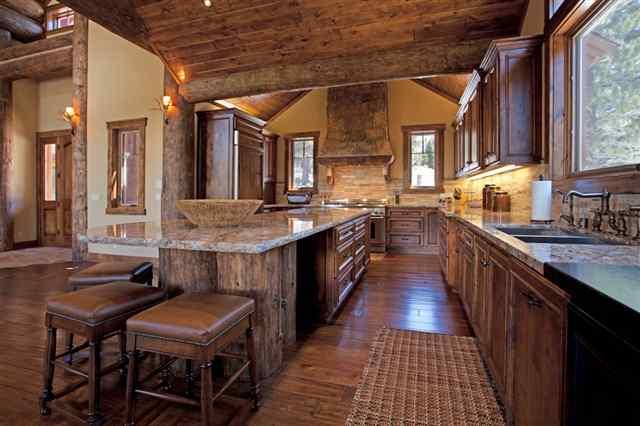 Interior of Luxury Home in Bluffs