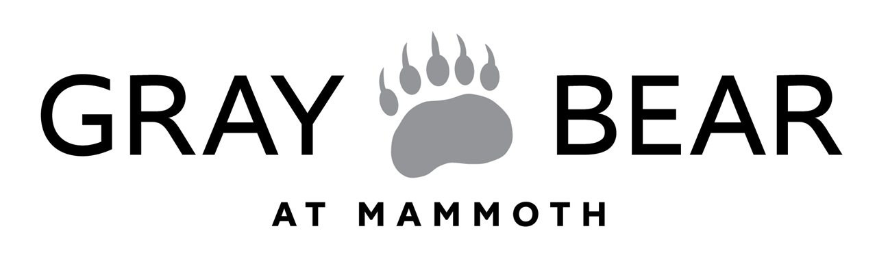 Gray Bear At Mammoth Logo