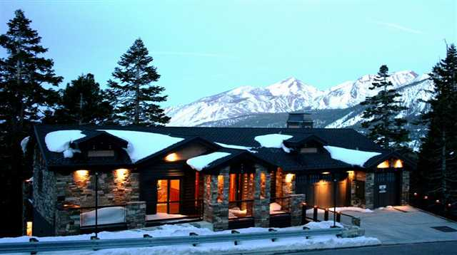 Luxury home above Eagle Lodge with mountain views