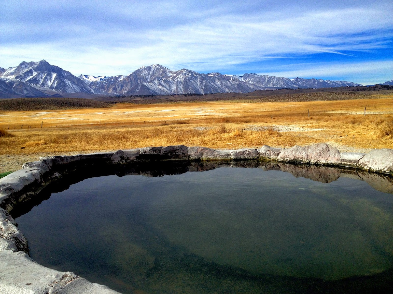 Hot Tub Near Mammoth Lakes Off of Benton Crossing Road
