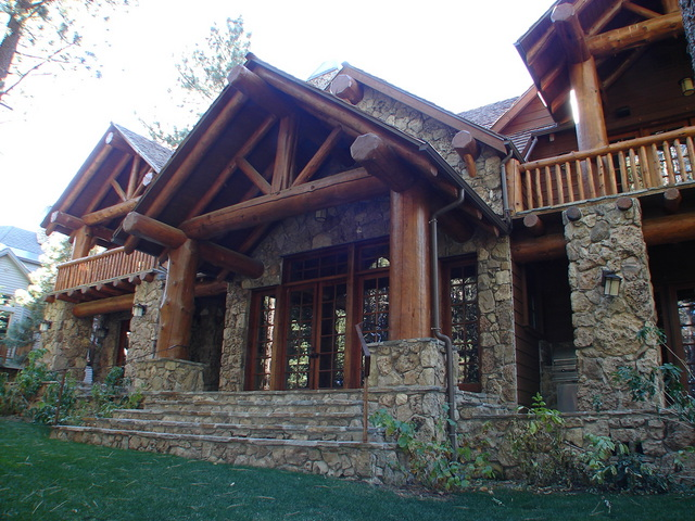 Starwood Luxury Craftsman Style Log Home