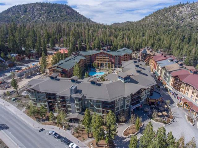Aerial View of Lincoln House Complex at Village at Mammoth