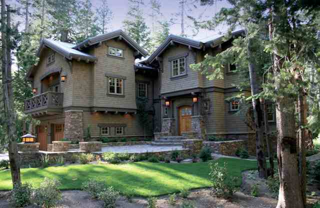 Mammoth Camp Tract Craftsman Style Home Exterior