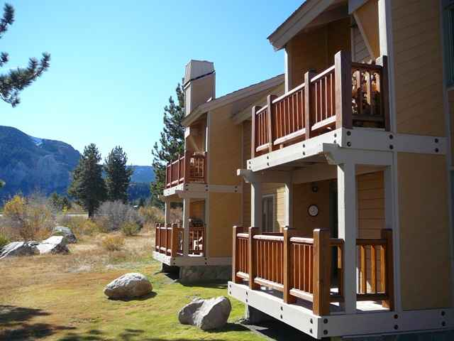 Mammoth Creek Condos on the Meadow in Summer