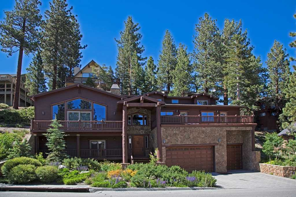Mammoth Slopes Home Exterior in Summer