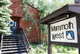 Mammoth West Condos Sign