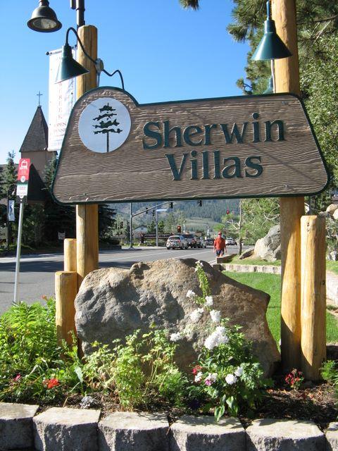 SHERWIN VILLAS CONDOS COMPLEX SIGN