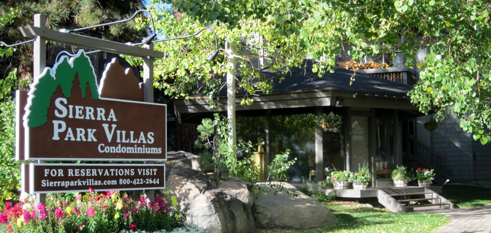 Sierra Park Villas Condos Complex Sign
