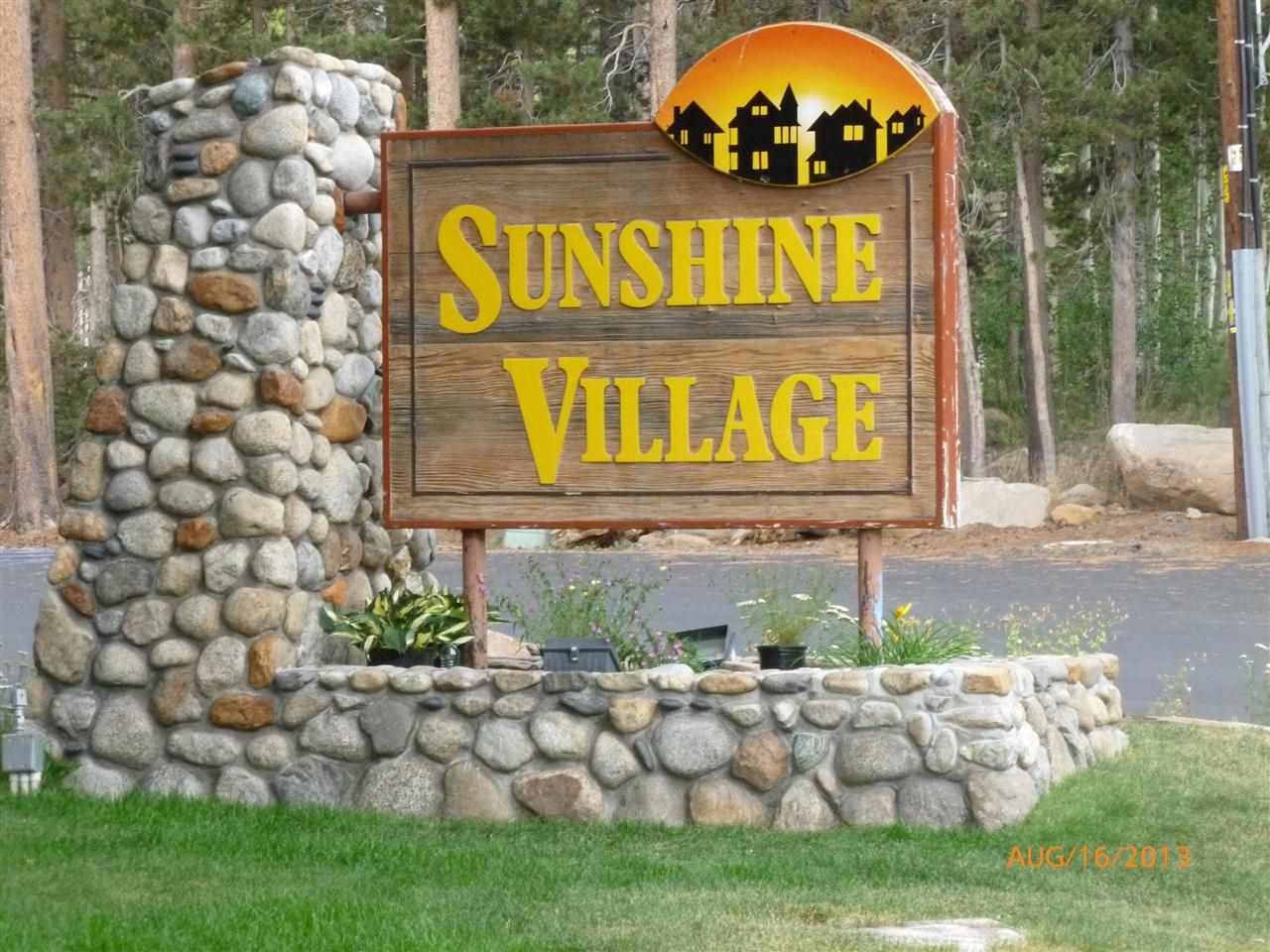 Sunshine Village Condos Sign