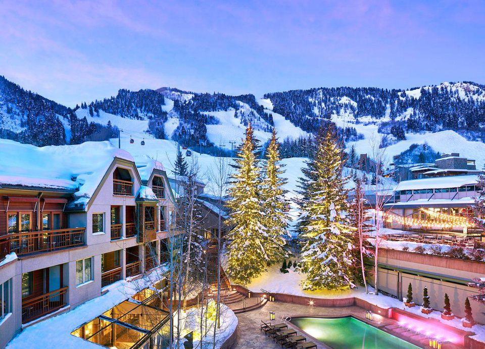 THE LITTLE NELL LUXURY SKI IN SKI OUT HOTEL IN ASPEN COLORADO