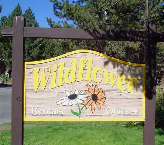 WILDFLOWER CONDOS COMPLEX SIGN