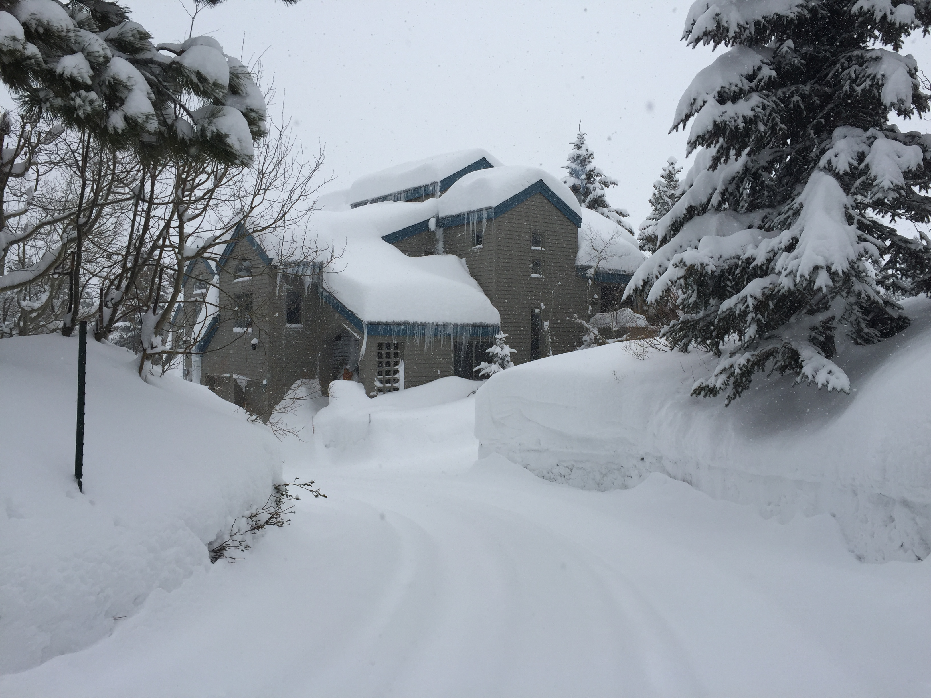 Winter Snow after January 12, 2017 Major Snow Storm