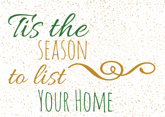 Reasons to list during the holidays