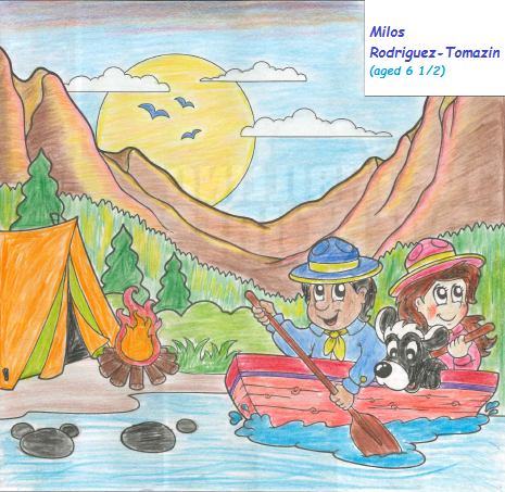 Coloring Contest Winner July-August Issue