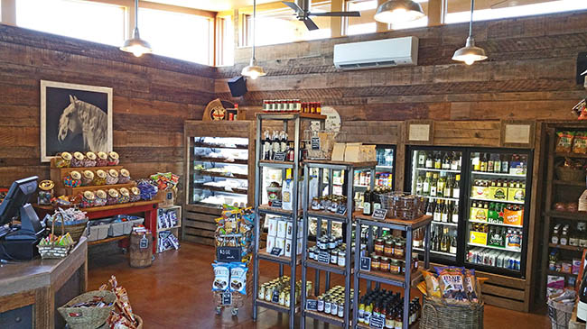 The New General Store opened in 2015