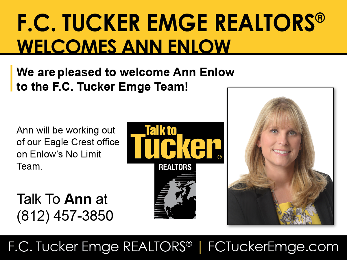 Welcome Ann Enlow to F.C. Tucker Emge REALTORS®!