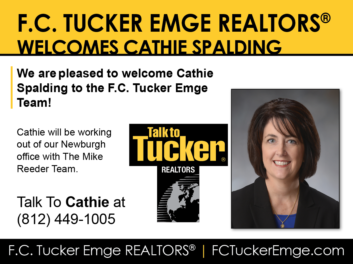Welcome Cathie Spalding to F.C. Tucker Emge REALTORS®!
