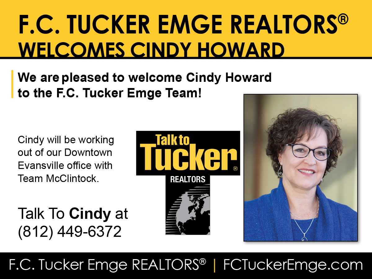 Welcome Cindy Howard to F.C. Tucker Emge REALTORS®!