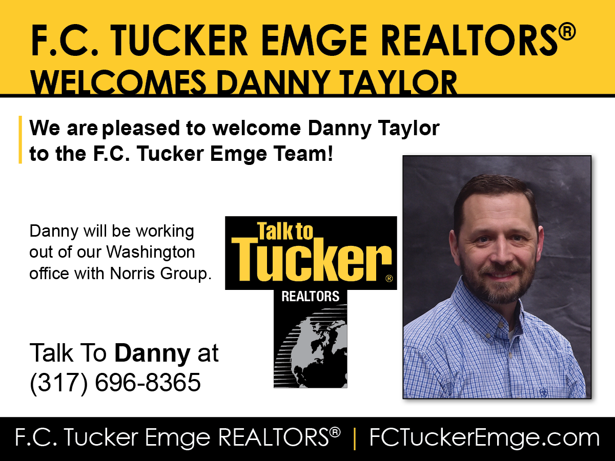 Welcome Danny Taylor to F.C. Tucker Emge REALTORS®!