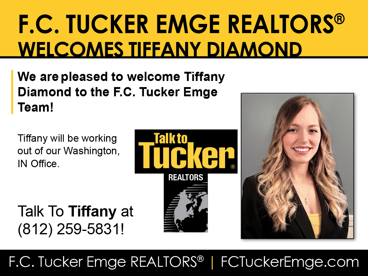 Welcome Tiffany Diamond to F.C. Tucker Emge REALTORS®!