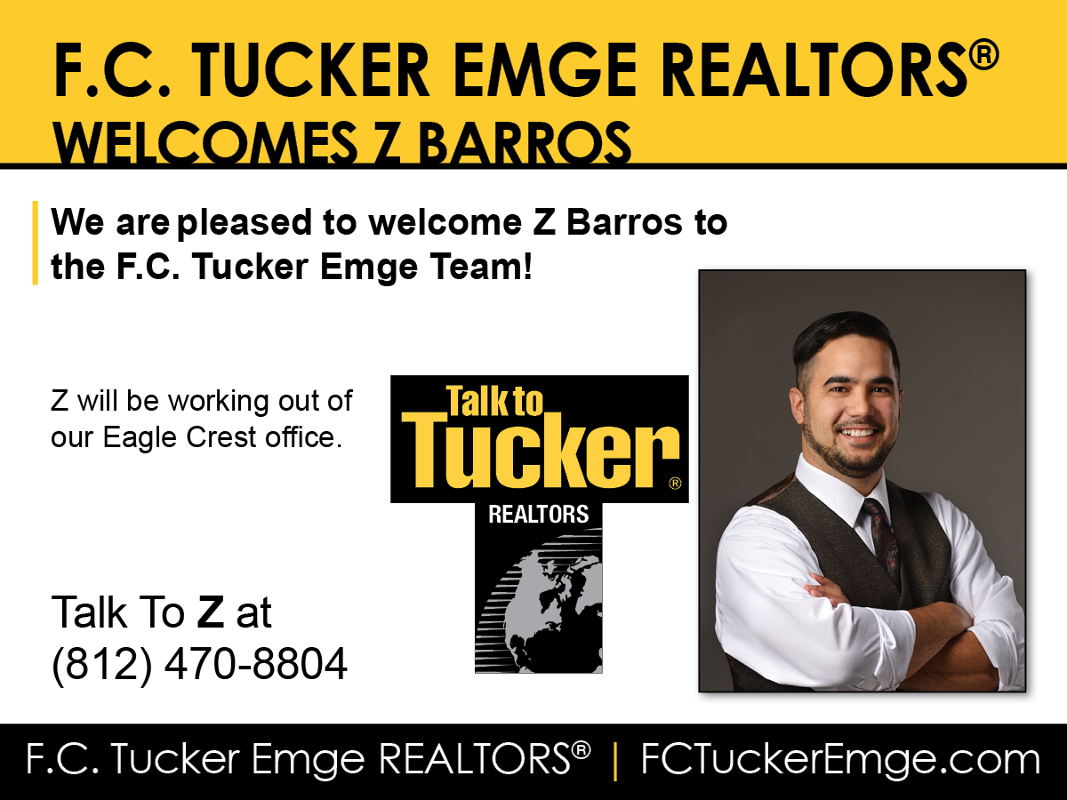 Welcome Z Barros to F.C. Tucker Emge REALTORS®!