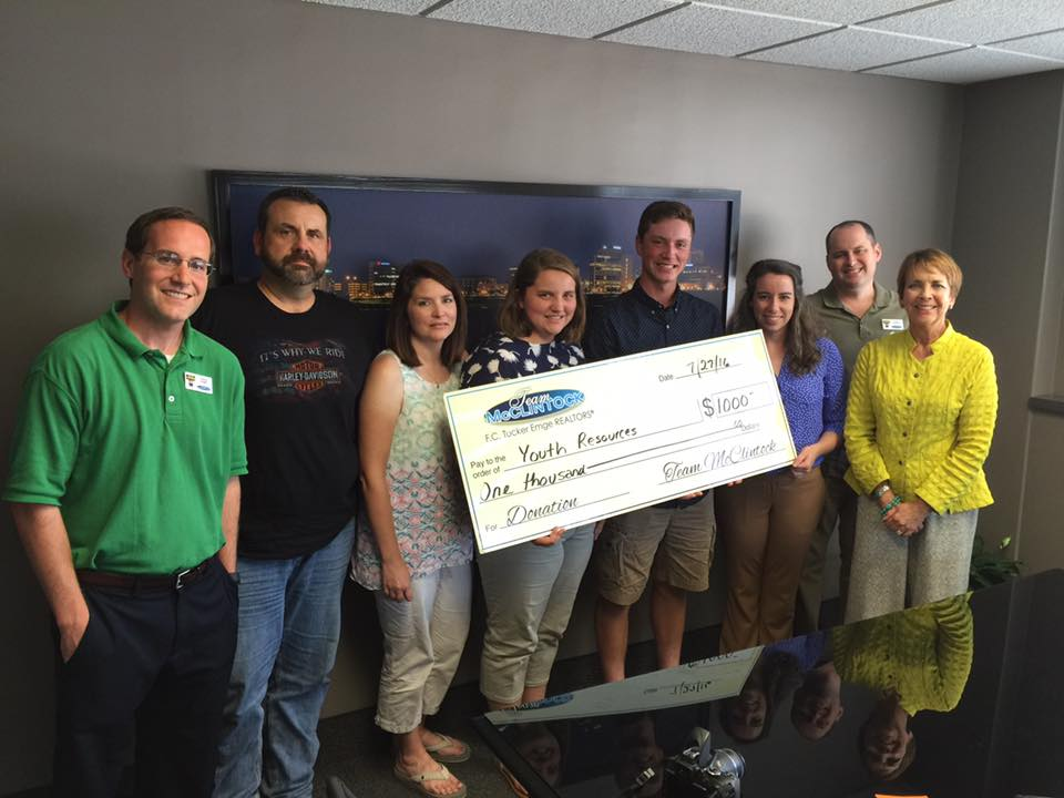 Team McClintock Gives Back to Youth Resources