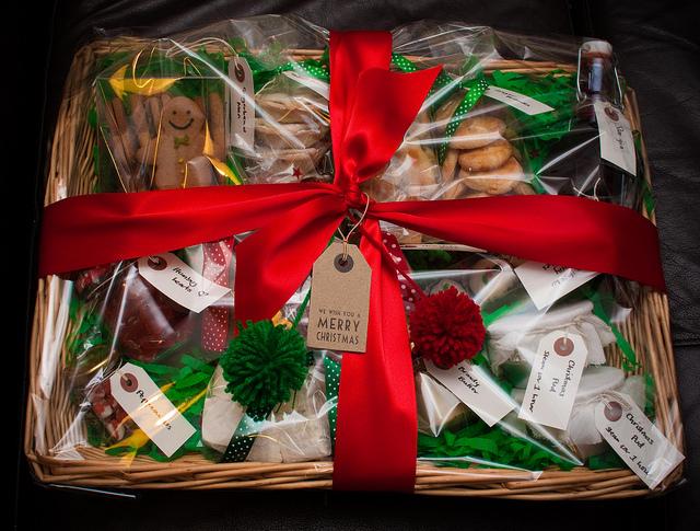 Gift Basket - Image Credit: https://www.flickr.com/photos/infobunny/6561030473