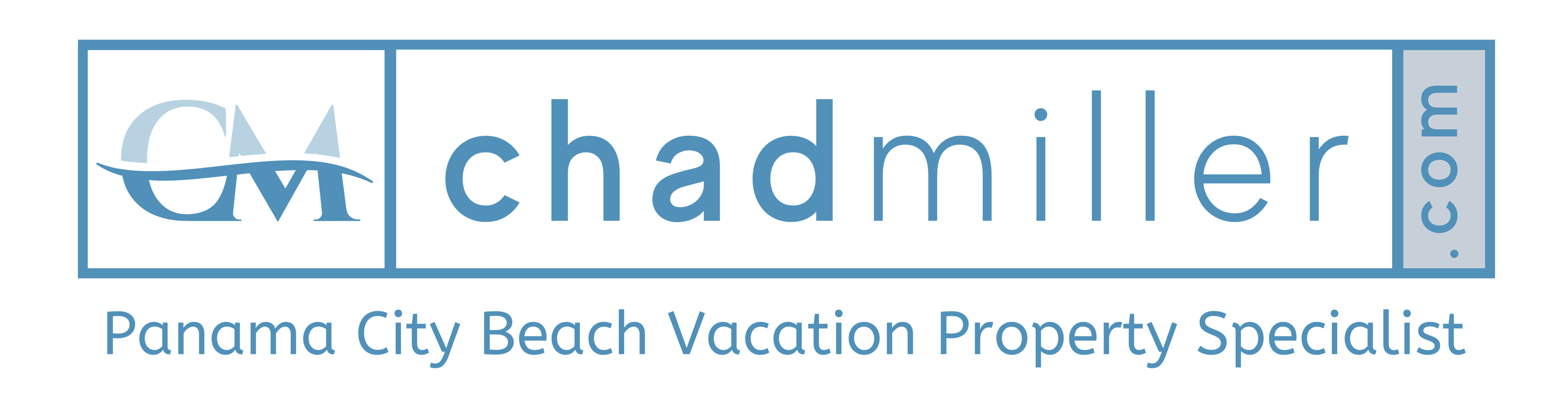 CM and Chad Miller header logo