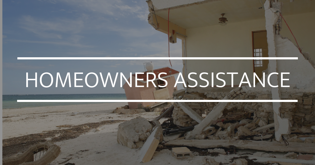 hurricane assistance for homeowners