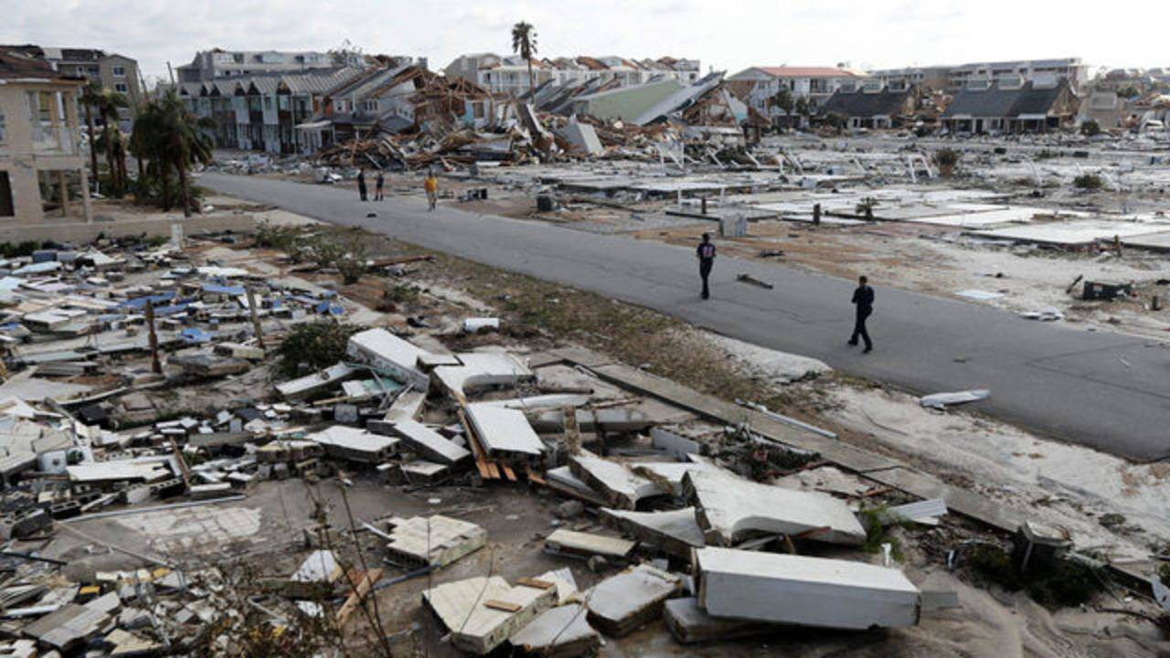 panama city beach after hurricane Michael