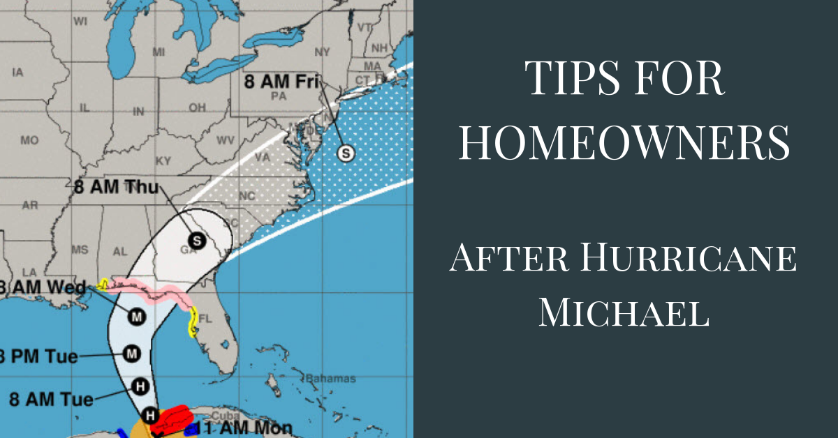 tips after the storm for PCB homeowners