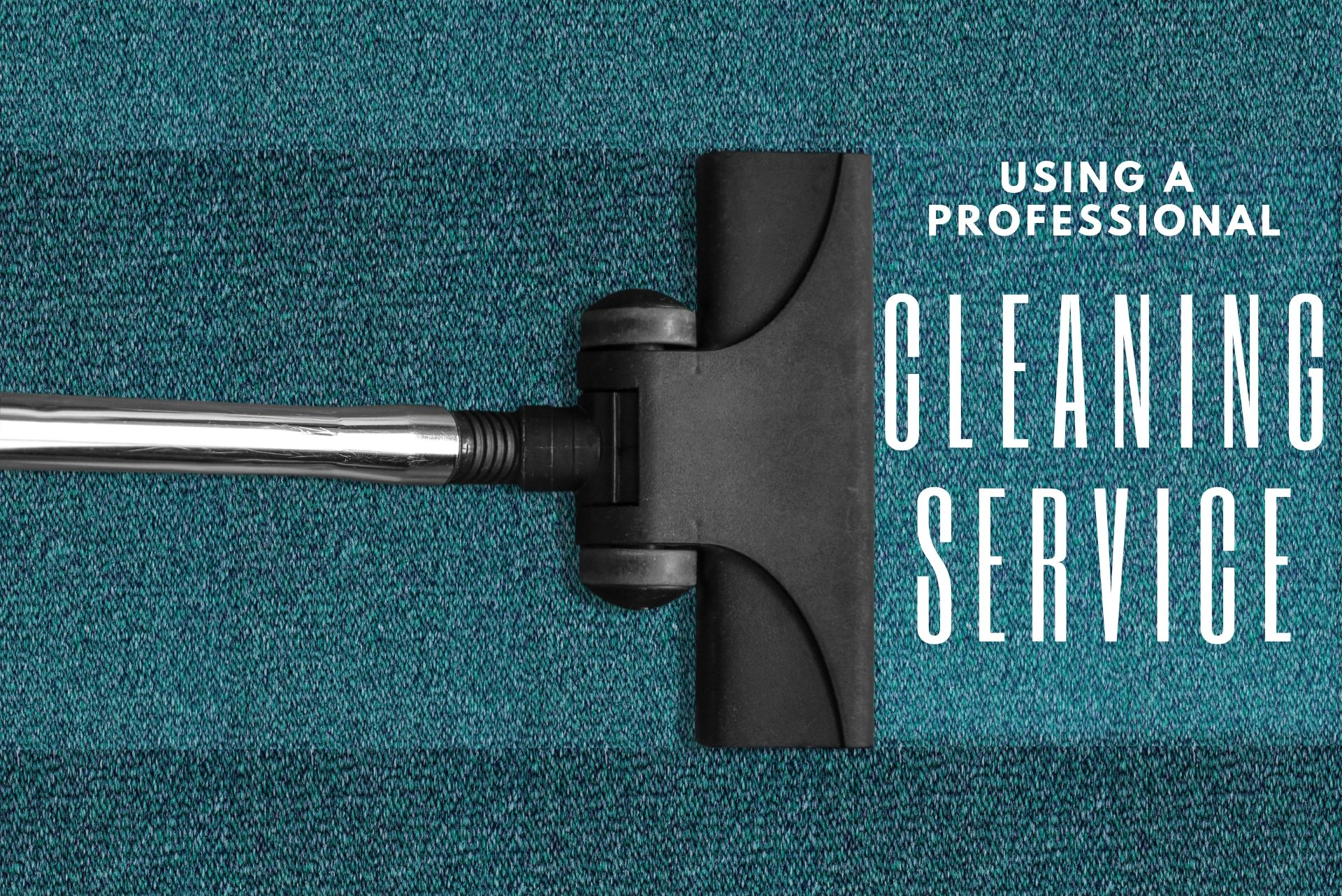 Using professional carpet cleaners
