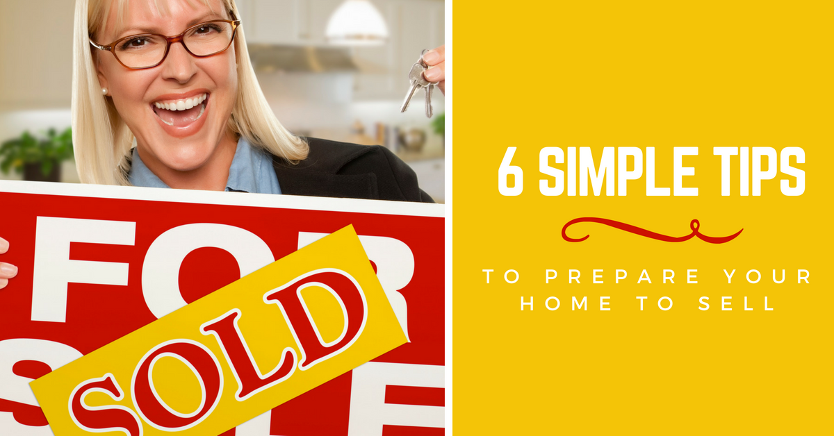 6 tips for preparing your home to sell