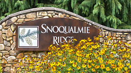 Snoqualmie Ridge Sign