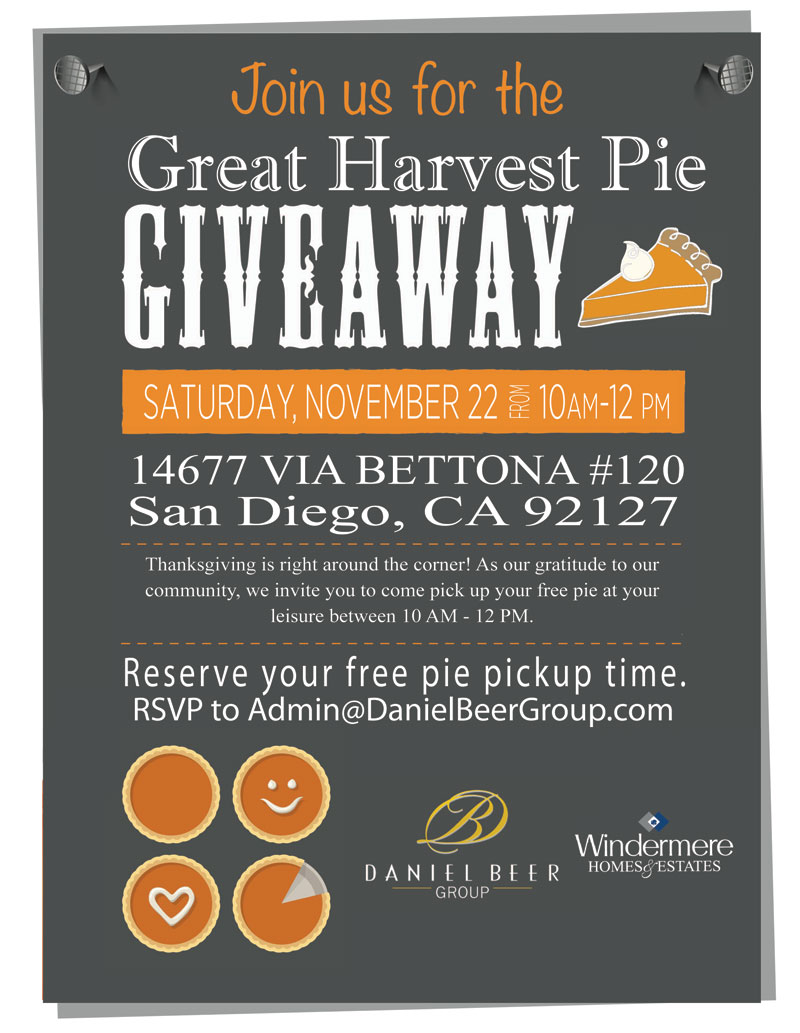 Daniel Beer Group Pie Giveaway