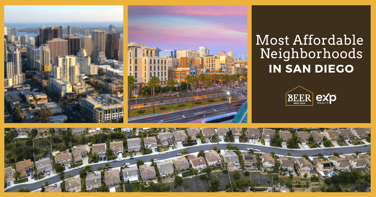 San Diego Most Affordable Neighborhoods