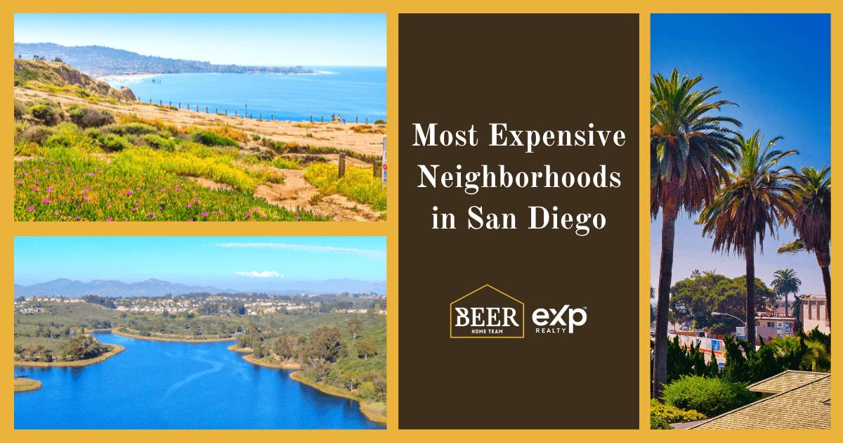 San Diego Most Expensive Neighborhoods