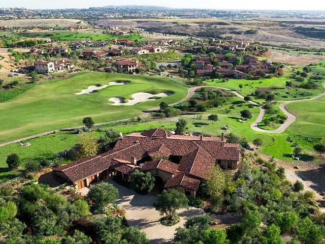 Santaluz Golf Course arial photo