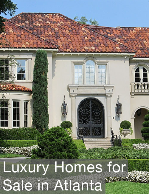 Luxury Homes for Sale in Atlanta
