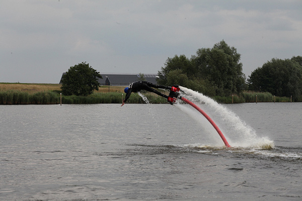 Flyboarding - Image Credit: https://www.flickr.com/photos/okebaja/14554079113