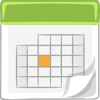 Calendar - Image Credit: http://pixabay.com/en/users/Nemo-3736/
