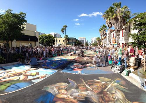 Sarasota Chalk Festival - Image Credit: https://www.flickr.com/photos/booleansplit/6320002598