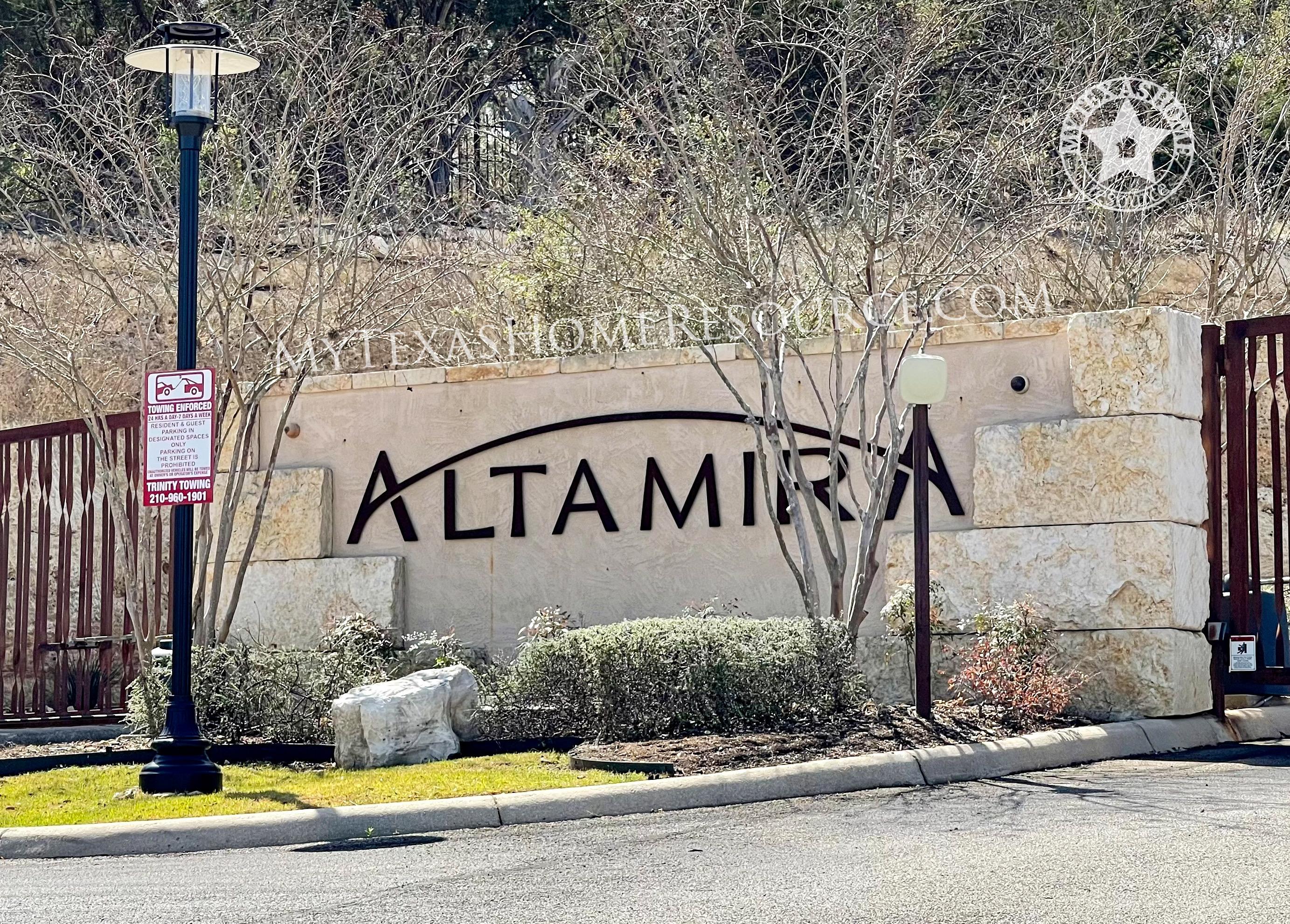 Altamira Subdivision, San Antonio, TX