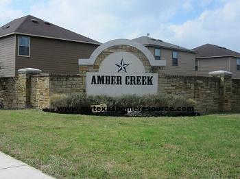 Amber Creek Subdivision San Antonio TX