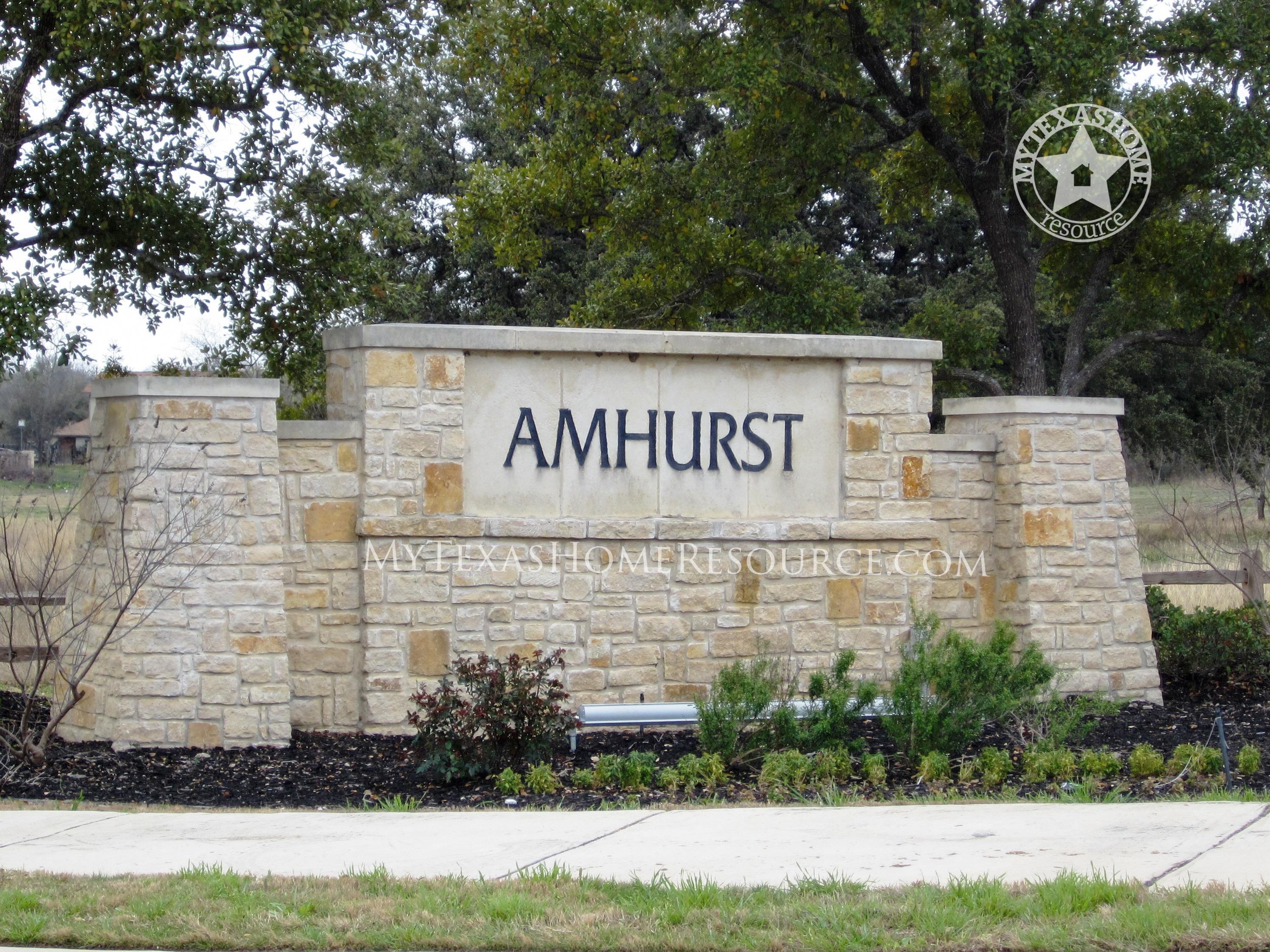 Amhurst Community in San Antonio, TX
