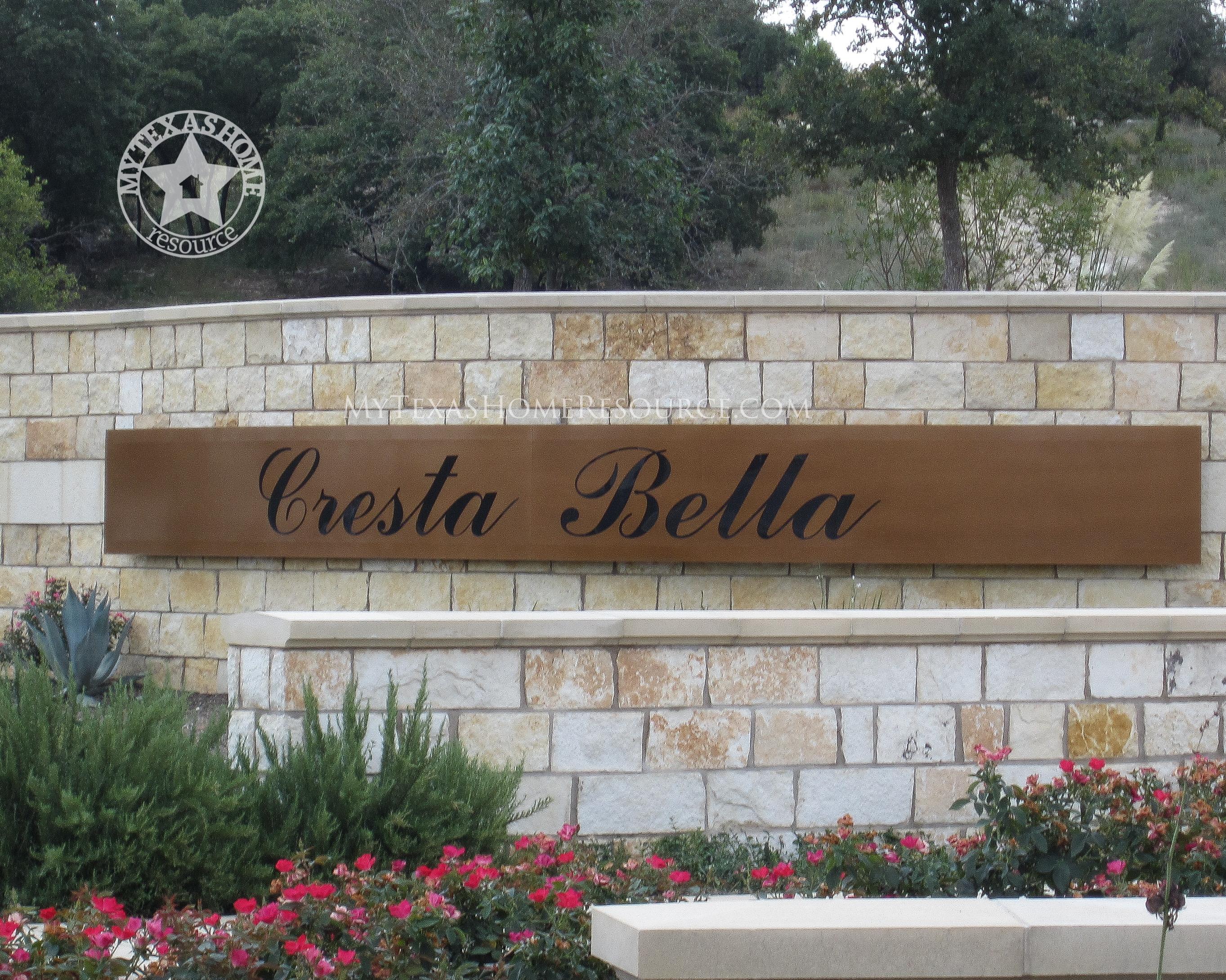 Cresta Bella Community San Antonio, TX