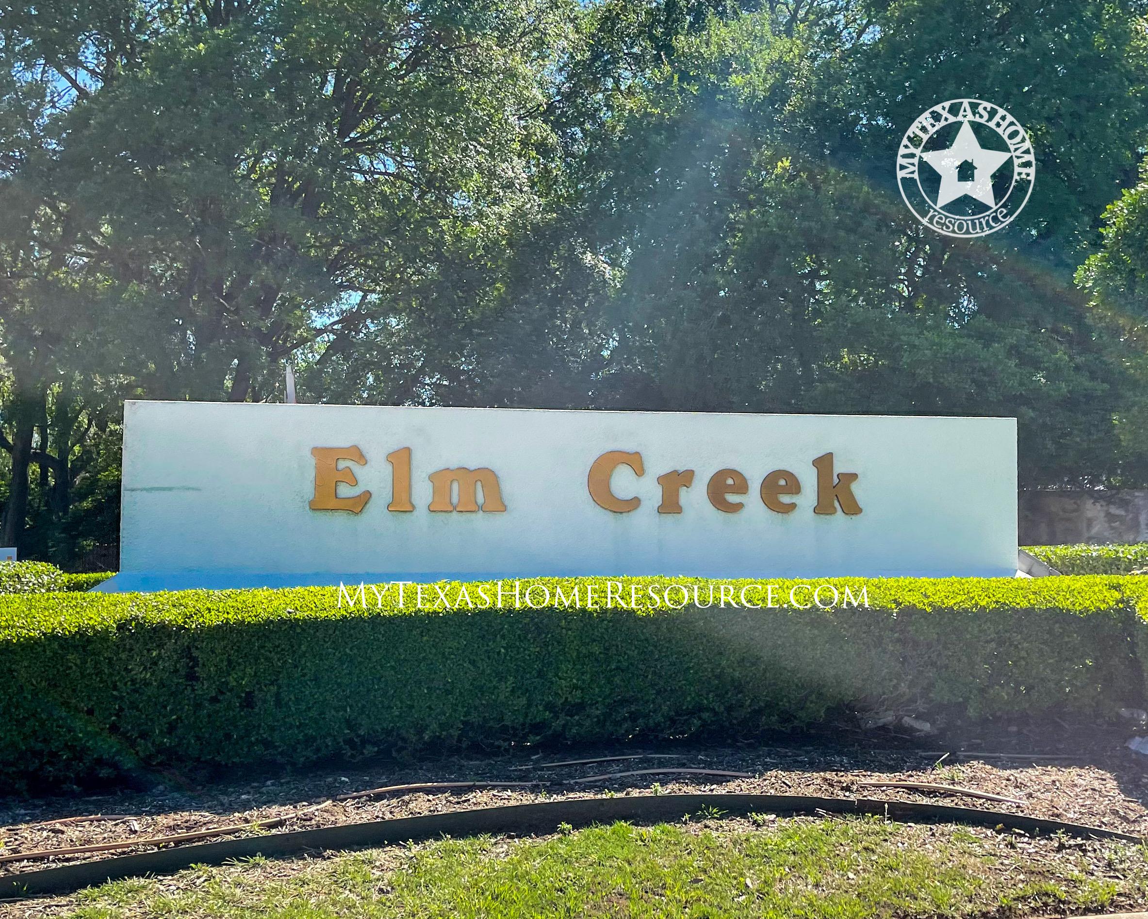 Elm Creek Community San Antonio, TX