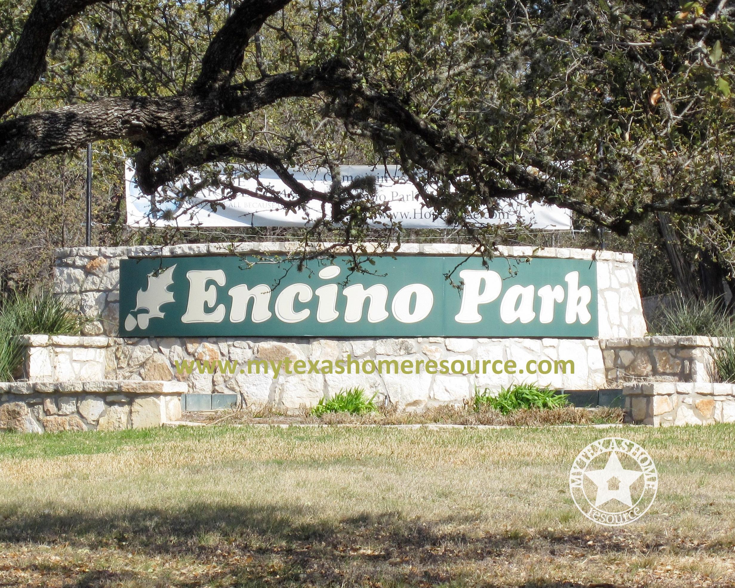 Encino Park Community San Antonio, TX