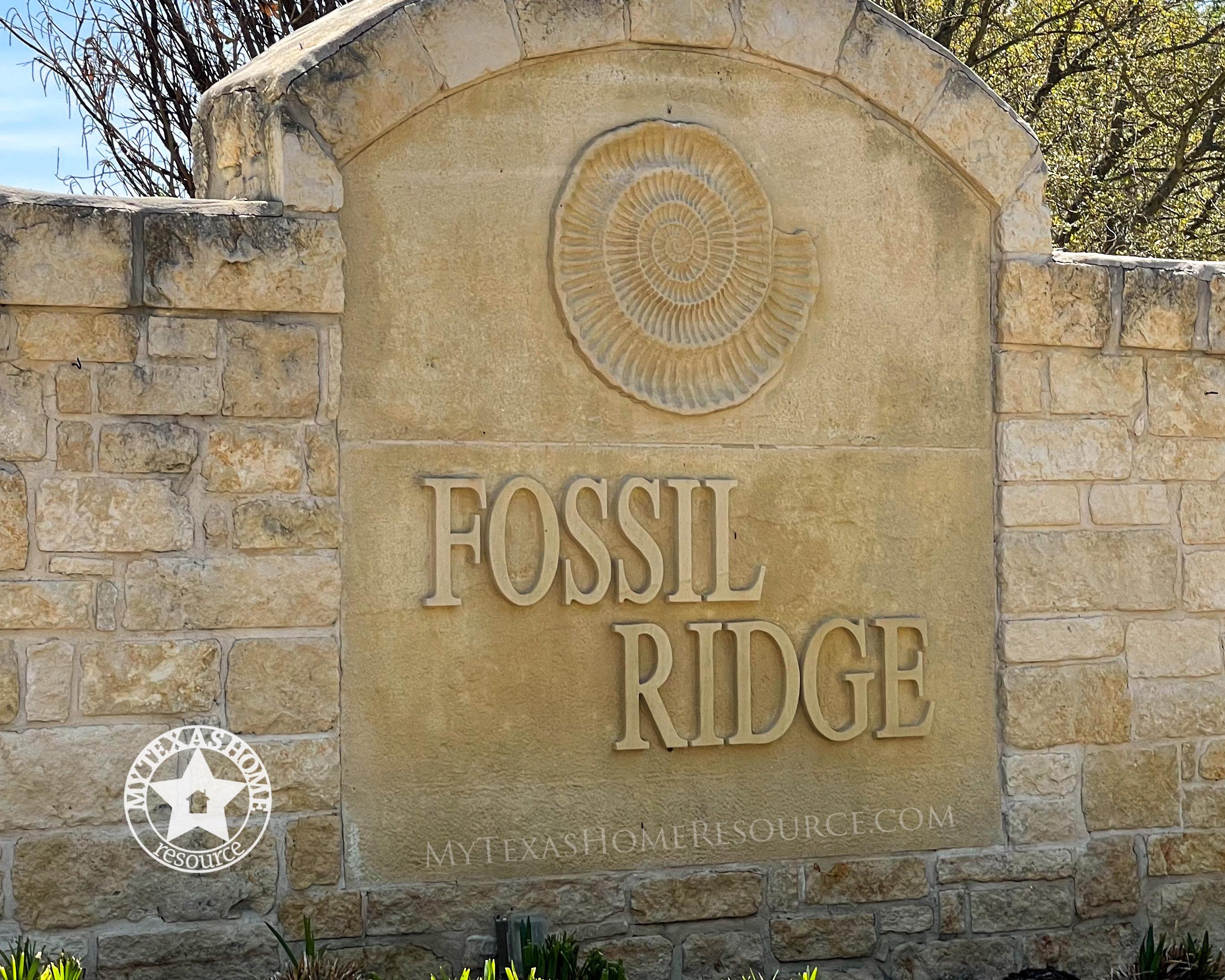 Fossil Ridge Community San Antonio, TX