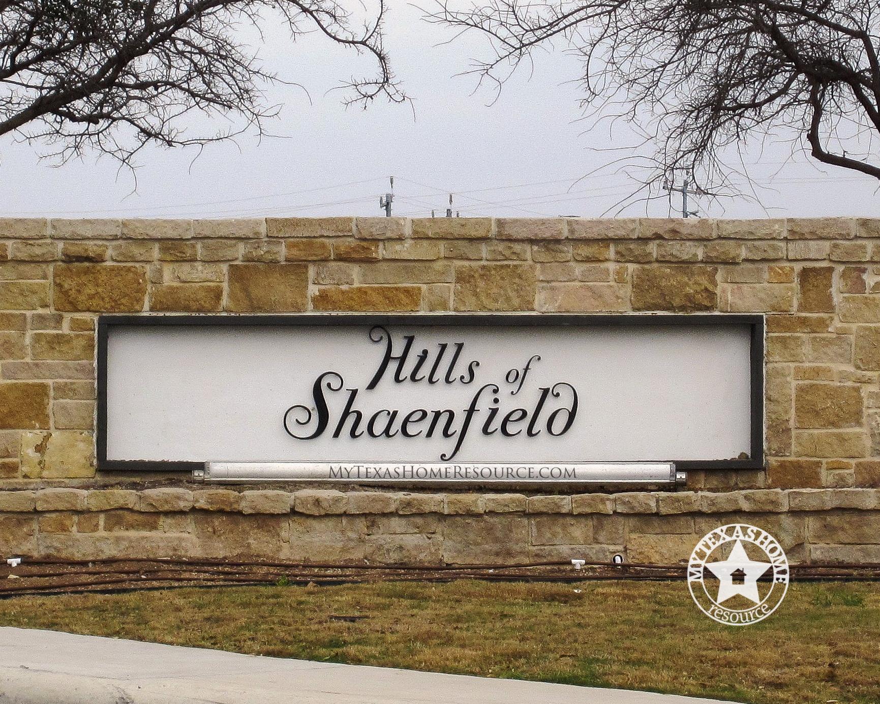 Hills of Shaenfield Community San Antonio, TX